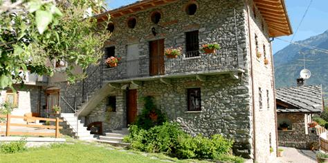 Bed and breakfast Aosta Valley: mountain rural house